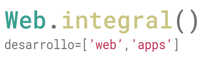 Web Integral – Desarrollo Web y Apps